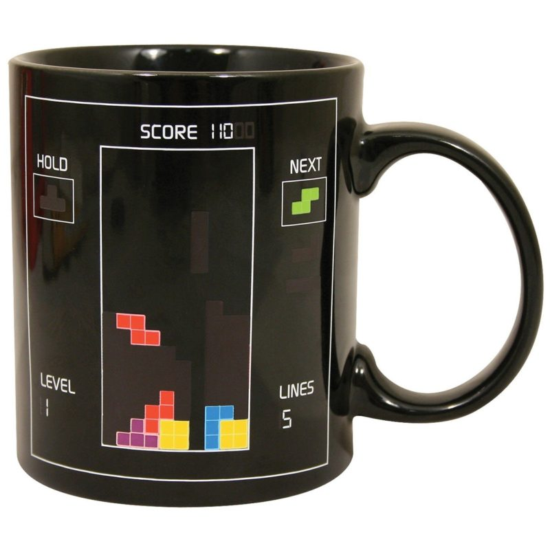 Tetris Mugg