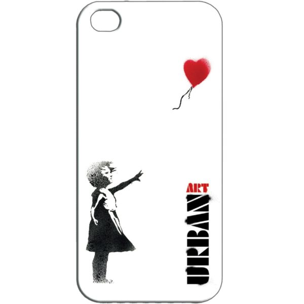 Banksy Style Red Balloon iPhone 5 Skal