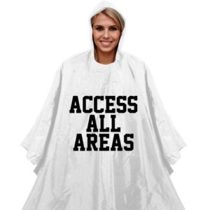 Access All Areas Poncho