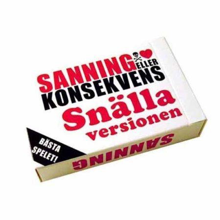 Kortspel Sanning & K. Snälla