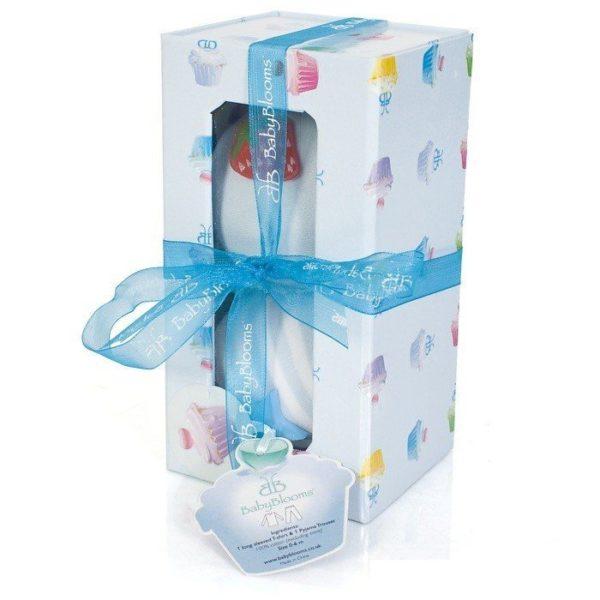 Baby Cake Presentförpackning Blå