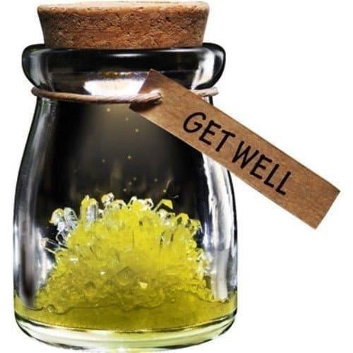 Kristall Blomman Get Well