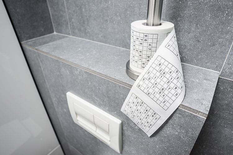 Toalettpapper Sudoku