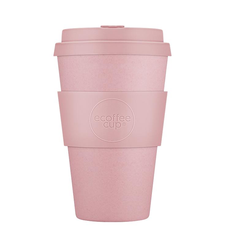 Ecoffee Take Away Mugg Rosa