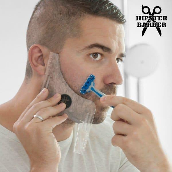 Mall För skäggklippning