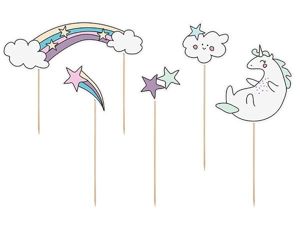 Tårtdekoration Unicorn