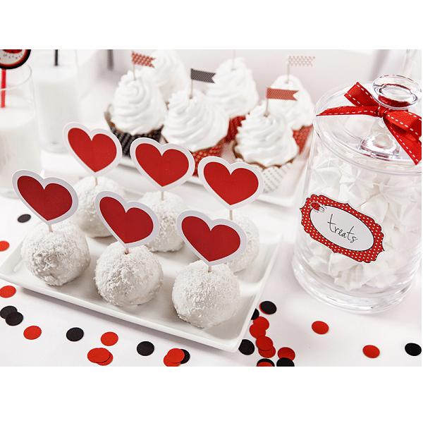 Cupcake Dekoration Hjärta