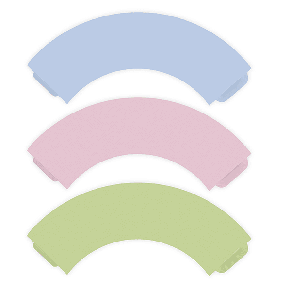 Cupcake Wrappers Pastell