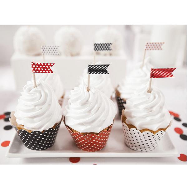 Cupcakewrappers Nyckelpiga