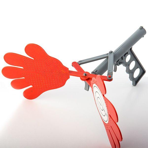Flugsmällepistol Med Händer