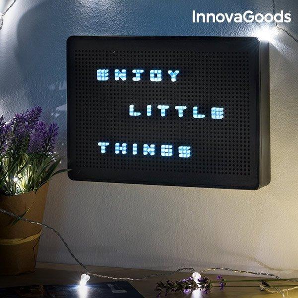 Tavla Med LED Bokstäver