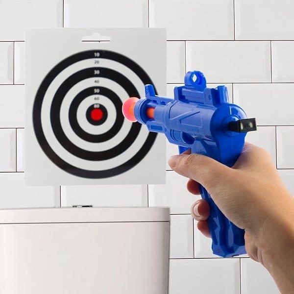 Toalett Pistolskytte