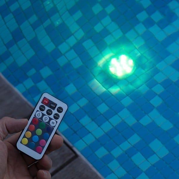 Undervattenljus LED
