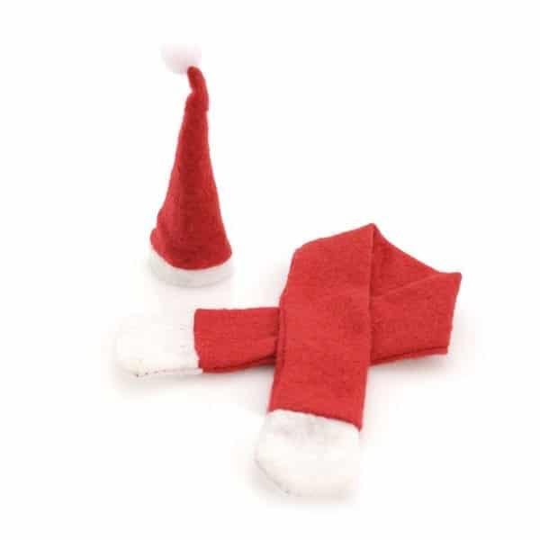 Jultomte Dekoration Till Flaska