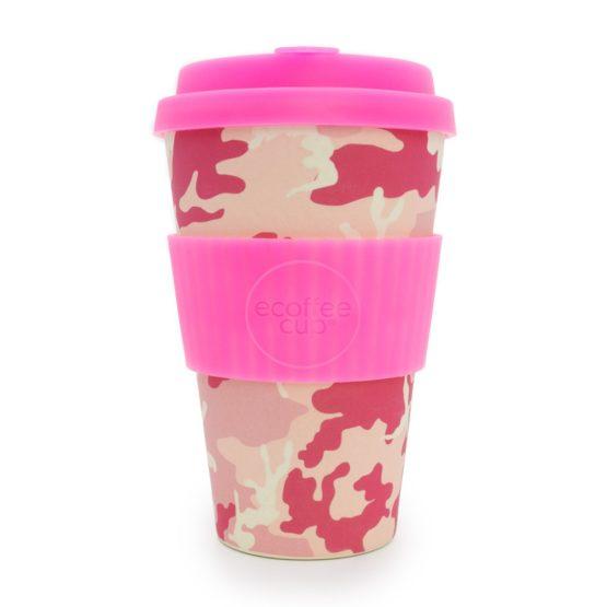 Ecoffee Take Away Mugg Rosa Mönster