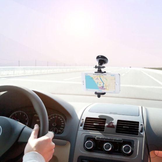 Mobilhållare Till Bilen Med Sugpropp