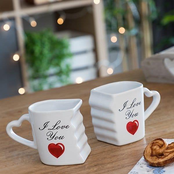 Kärleksmugg För Par