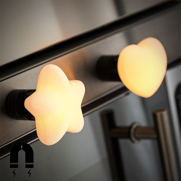 Kylskåpsmagnet Med Led Lampa