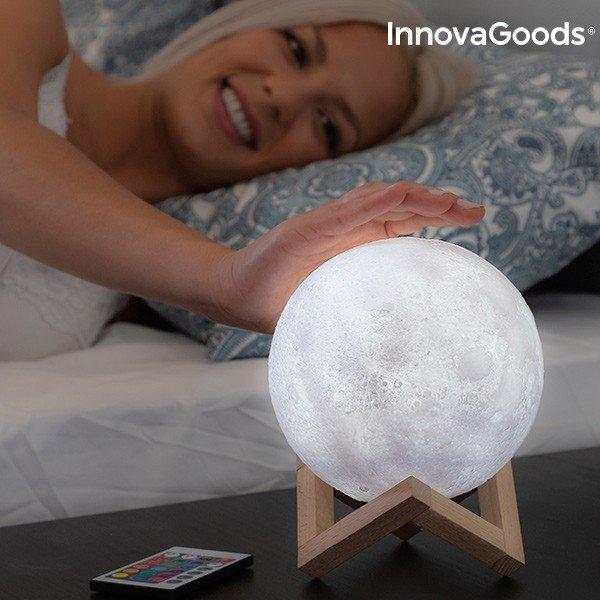 Måne 3D Lampa
