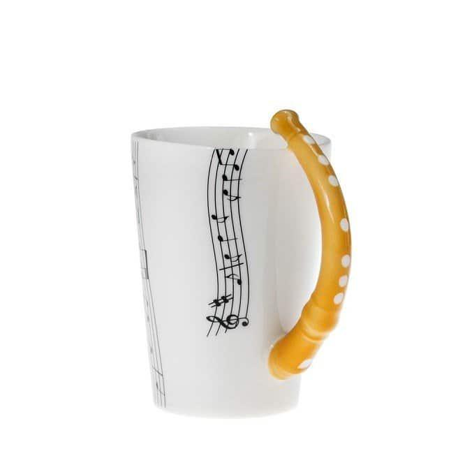 Musik Mugg Flöjt