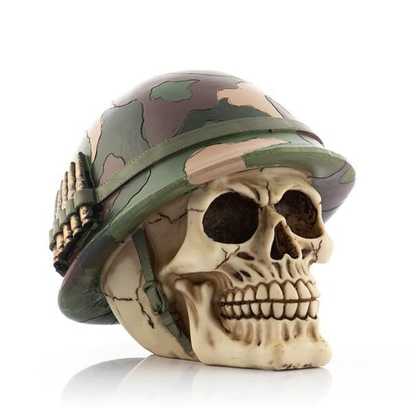 Sparbössa Dödskalle Soldat