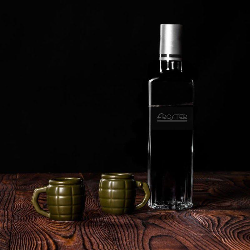 Granat Shotglas