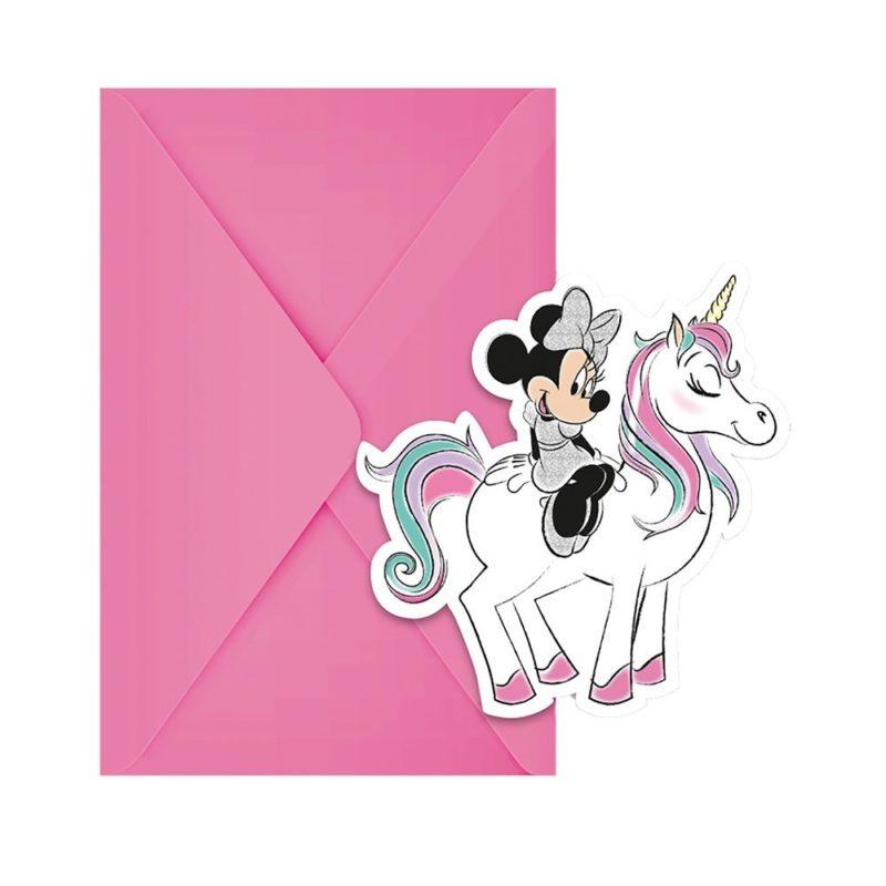 Inbjudningskort Mimmi Unicorn