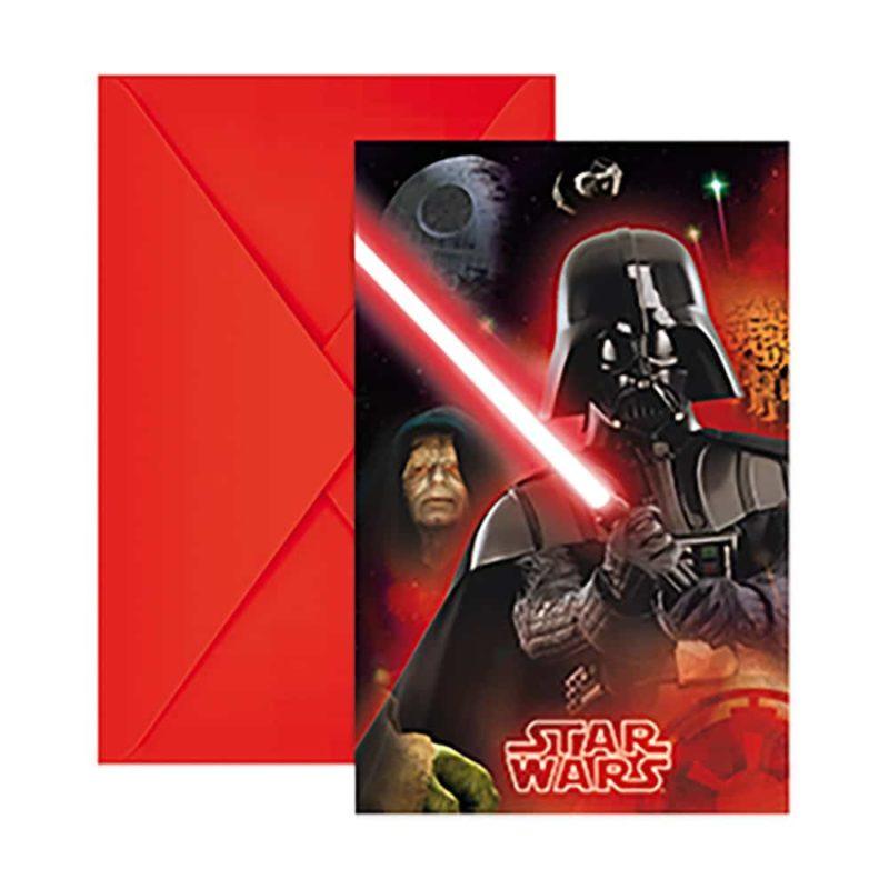 Inbjudningskort Star Wars