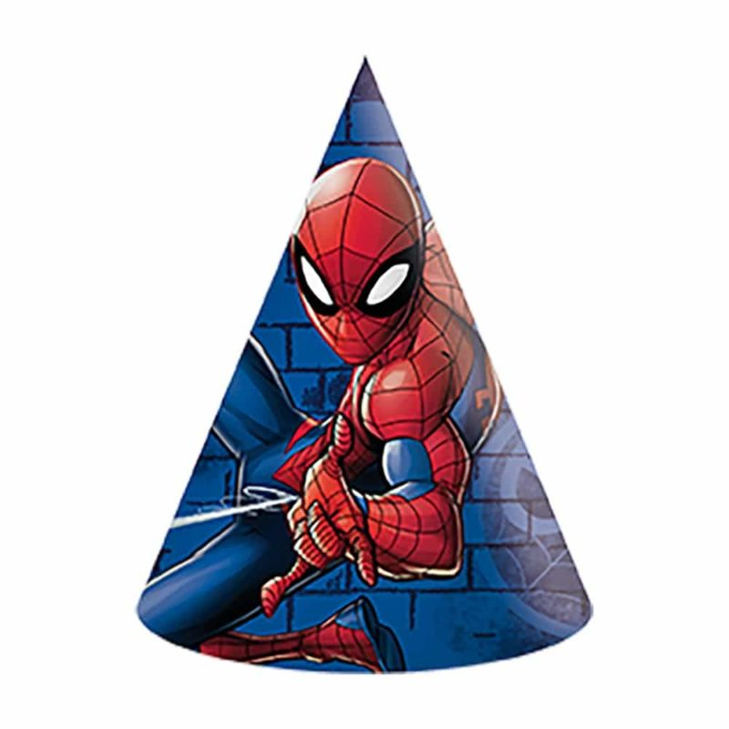Partyhattar Spiderman