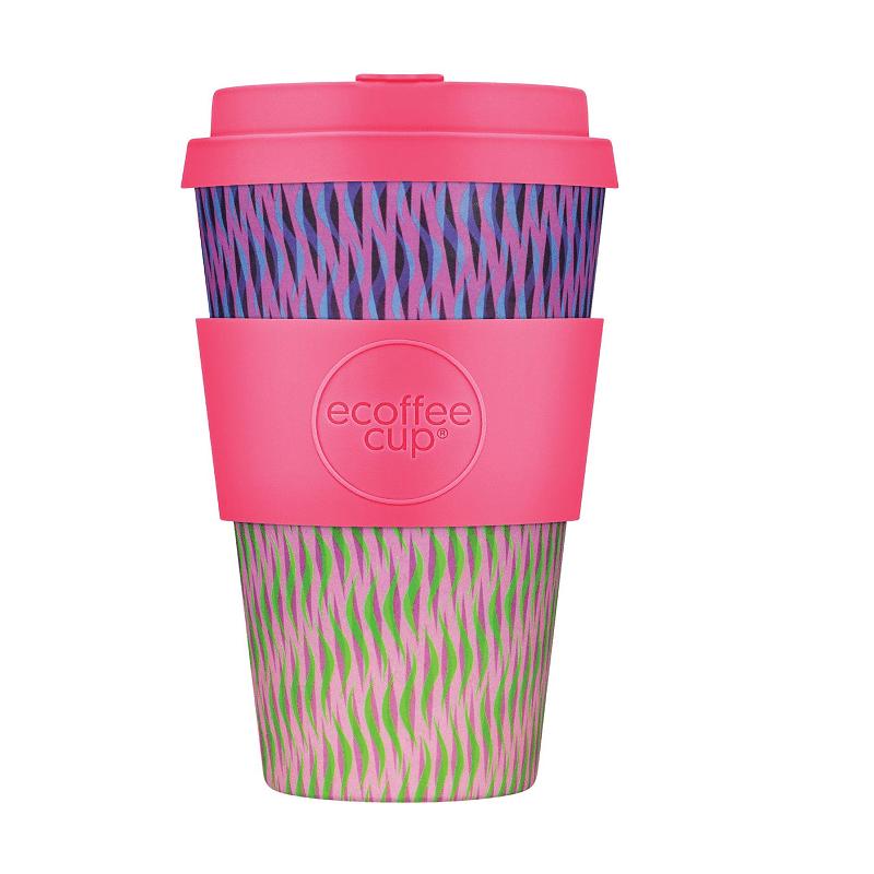 Ecoffee Take Away Rosa Vågor