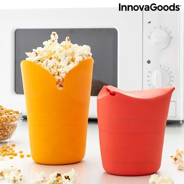Ihopvikbar Popcornskål