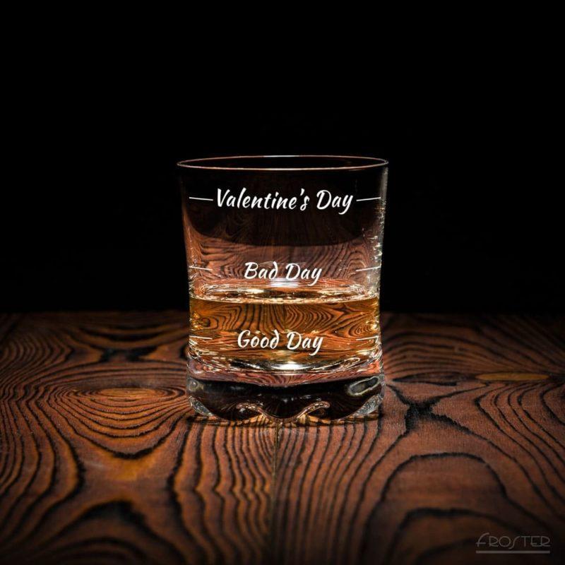 Whisky Glas Valentine´s Day